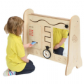 Toddler Duo Activity Station,Pretend play idea,Imaginary play ideas,wooden play castle,pretend play ideas nursery,wooden early years toys